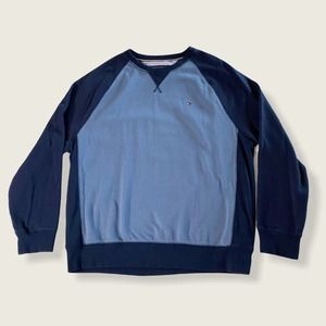 Tommy Hilfiger Long Sleeve Pullover Blue XXL